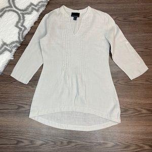 Cynthia Rowley Linen Tunic Size XS